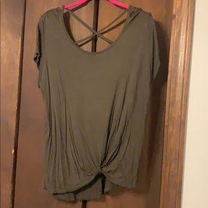 Green shirt XL